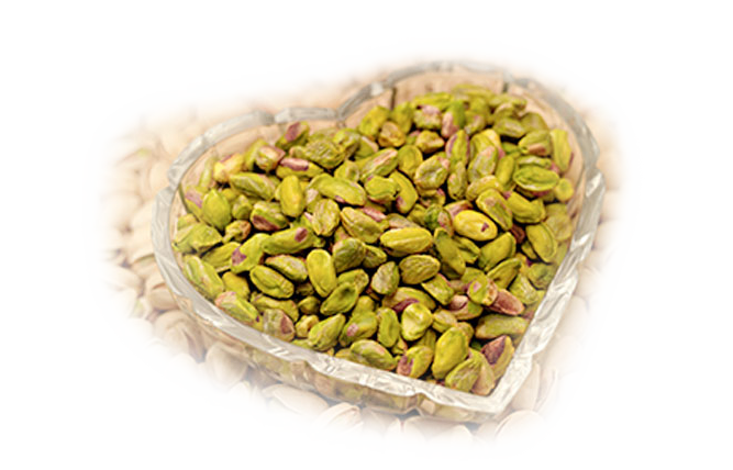 Pistachio Heart Bowl